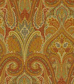 Home Decor Fabric Waverly Cashmere Ruby