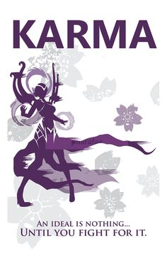 Karma: League of Legends Print por pharafax en Etsy