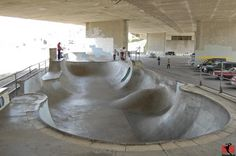 simon rodia meets antonio gaudi meets tony hawk.  Channel St. Skatepark San Pedro - One of the best skateparks in southern California hand crafted and built by real skateboarders who took matters into their own hands.