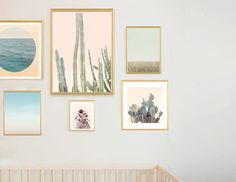 Create custom sets for your modern nursery or any special space in your home. This is a beautiful, tranquil look that works perfectly in a
