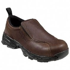 N1620 Nautilus Men's Steel Toe Safety Shoes - Brown www.bootbay.com