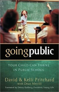 I read this 2 years ago and as a future public school teacher, I appreciate its insight, but even more so as a Christian. going public is a Christian perspective on intentionally sending your children to public school and making it a family affair.