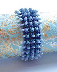 Jurassica Bracelet pattern - Heatherworks