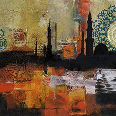 Lahore Painting - Badshahi Mosque Motives by Corporate Art Task Force Art Painting, Islamic Art Calligraphy, Large Painting, Pakistani Art, Corporate Art, Art, Islamic Paintings, Islamic Artwork, Interesting Art