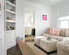 Sectional/small space
