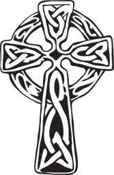 Celtic Cross Tattoo Designs | The Celtic cross (aka Irish cross) is the standard Christian cross ...