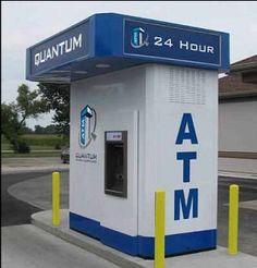 Quantum ATM Kiosk