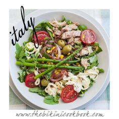 Tuna salad from the bikini cookbook ITALY