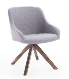 A Cadeira Village se destaca pela sua beleza, conforto e versatilidade combinando facilmente em qualquer ambiente. Descrição Técnica: Concha em madeira multilaminada toda estofada Opções de base: bases giratórias em inox, alumínio ou madeira e bases fixas em mandeira. obs: as bases podem ser pintadas confome cartela de cores. DimensõesA: 800mmL: 580mmP: 600mmA.ass: 460mmA. braço: 560mm Small Room Bedroom, My Room, Table And Chairs, Sofa, House, Furniture, Home Decor, Architecture, Upholstered Dining Chairs