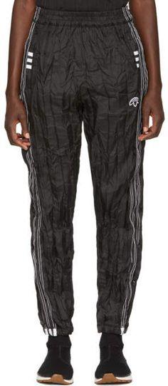adidas Originals by Alexander Wang - Black AdiBreak Track Pants Slim Fit Pants, Athletic Pants, Alexander Wang, Adidas Originals, Parachute Pants, Fitness, Track, Collection, Shopping