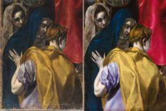 Restauración de El Expolio de Cristo, de El Greco Museo del Prado