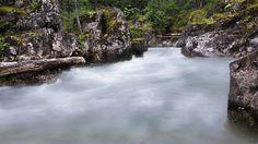 Below the lower falls at Little Qualicum Falls Provincial Park. Photo by Bob Webb. #canada #exploreBC #exploreVancouverIsland #myPQB