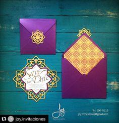 Metallic papers and laser cut and gold foil oh my..! The gals at @joy.invitaciones are creating a remarkable stationary suite for an upcoming project that is very close to my heart. Do you think we captured the essence of our middle eastern theme? #Repost @joy.invitaciones with @repostapp.  Trabajando en estos save the date para ya irnos de vacaciones!! #cristhianevent #eventdesign #stationary #invitation #savethedate #quatrefoil #laser #lasercut #alhambra by cristhianevent