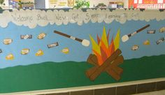 Welcome Back To School Bulletin Boards | more Learning Bulletin Board Theme - MyClassroomIdeas.com