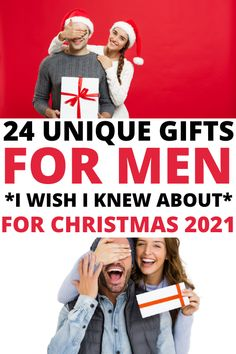 Unique Gift ideas for men who have everything and want nothing. These awesome Christmas ideas for guys who have everything will make holiday shopping stress free and fun so be sure to check out these cool gifts for hard to buy for men! Unique Gifts For Him, Best Gifts For Men, Cool Gifts, Romantic Anniversary, Christmas Fun, Holiday, I Wish I Knew, Everything Is Awesome, Stress Free