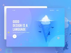 Good design is a language by Surja Sen Das Raj ___________________ o---> 💡If you have an app/website/project that needs outstanding… Ux Design, Creative Web Design, Web Design Trends, Design Blog, Web Design Company, Layout Design, Flat Design, Design Ideas, Interior Design
