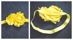 Newborn headband DIY