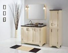 meble łazienkowe Ritorno #bathroom #furniture #lazienka #cabinet #szafka #meble #clasic #vanilla