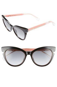 Fendi 51mm Cat Eye Sunglasses | Nordstrom