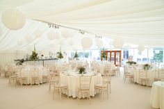 countryside summer marquee wedding