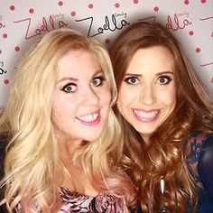 Louise Watson and Hazel at the Zoella Beauty launch. Louise Hazel, Sprinkle Of Glitter, Zoella Beauty, British Youtubers, Girl Crushes, Product Launch, Lady, People, Beautiful