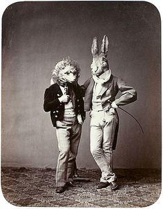 The Hedgehog & the Hare, Fairy-tale Ball, Munich, 1862