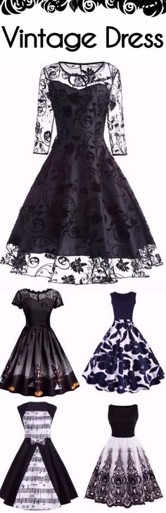 Party Vintage Dress | Start at $5.99 | Sammydress.com