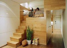 Creative Modern Loft Bed for Women