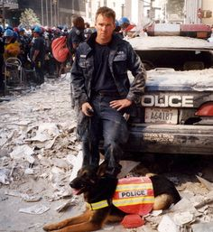 Trakr, a German Shepherd, and his Canadian police handler, James Symington, drove to New York after the attacks of 9/11 and helped locate the last human survivor under 30 feet of debris. They searched Ground Zero until he collapsed from exhaustion. Trakr later suffered from neurological disorders, possibly linked to the toxic smoke at the site. He died in 2009, but not before he was cloned at Sooam Biotech Research in South Korea. His five clones are Trustt, Solace, Valor, Prodigy and Deja…