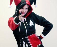 Harley Quinn Hoodie | DudeIWantThat.com