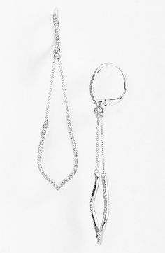 Bony Levy 'Ivy' Diamond Drop Earrings (Nordstrom Exclusive) available at #Nordstrom