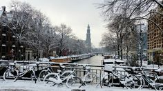 Before you know it, it's that time of year again: Amsterdam in the snow: http://www.dutchamsterdam.nl/3272-amsterdam-snow-2013