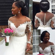 Absolutely Gorgeous! Makeup and hair by @kemikingsmakeup #onpointbride #weddingsonpoint