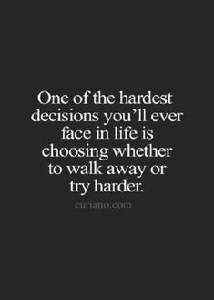 Moving On Quotes : Il try harder