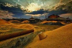 """Salt factory."" by sarawut Intarob, via 500px."