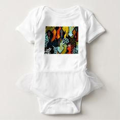 Abstract Art of Arrows Baby Bodysuit - kids kid child gift idea diy personalize design