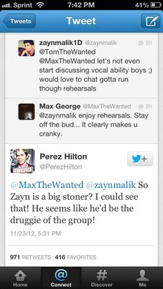 words cannot describe how much I hate Perez Hilton. Please drown in One Direction merchandise.