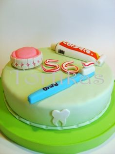 Cake Design Dentista : 1000+ images about Dentist Cakes on Pinterest Dentist ...