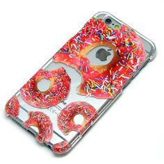 Hey, I found this really awesome Etsy listing at https://www.etsy.com/listing/227445835/donuts-with-sprinkles-clear-case-iphone