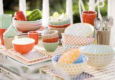 Renueva tu #mesa con nuestros coloridos productos. Primavera - Verano 2017