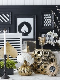 336 Best All That Glitters Is Gold Home Decor Images On Pinterest