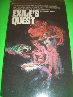 EXILE'S QUEST BY RICHARD MEADE 1ST SEPT 1970 SIGNET