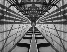 #reflection #mirror #architecture #bridge #lines #urban #symmetry creation © Jonathan Stutz