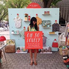 Pop-Up Shop 2.0! (OH SO LOVELY.)
