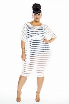 Looking for a few amazing plus size swimsuit cover ups  Check out the  latest from Jibri and her hot hot cover ups that are a summer must have! c3e4f0911528