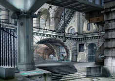 Emily Allchurch - Urban Chiaroscuro 2: London (after piranesi) 2007