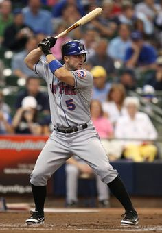 David Wright Photos - David Wright of the New York Mets bats against the Milwaukee Brewers during the game at Miller Park on July 2009 in Milwaukee, Wisconsin. The Mets won - New York Mets v Milwaukee Brewers Jets Football, Football Moms, My Mets, New York Teams, Lets Go Mets, New York Mets Baseball, Milwaukee Brewers, Milwaukee Wisconsin, Human Body