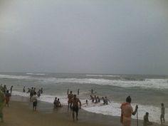 Puri Sea Beach in Puri, Odisha. Beach in Puri, Beaches, Sea, Sunset, Board, Water, Outdoor, Gripe Water, Outdoors, Sands