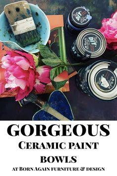How To Make Paint, Handmade Ceramic, Artist At Work, Chalk Paint, Louisiana, Bowls, Furniture Design, I Shop, Ceramics