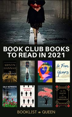 Looking for book club recommendations for the new year? Just choose one of these top 21 book club books for 2021. Best Book Club Books, Best Books To Read, New Books, Good Books, Summer Books, Summer Reading Lists, Beach Reading, Book Club Recommendations, Bryan Stevenson